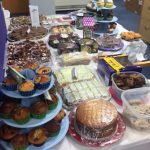 MacMillan cakes at Mainstream